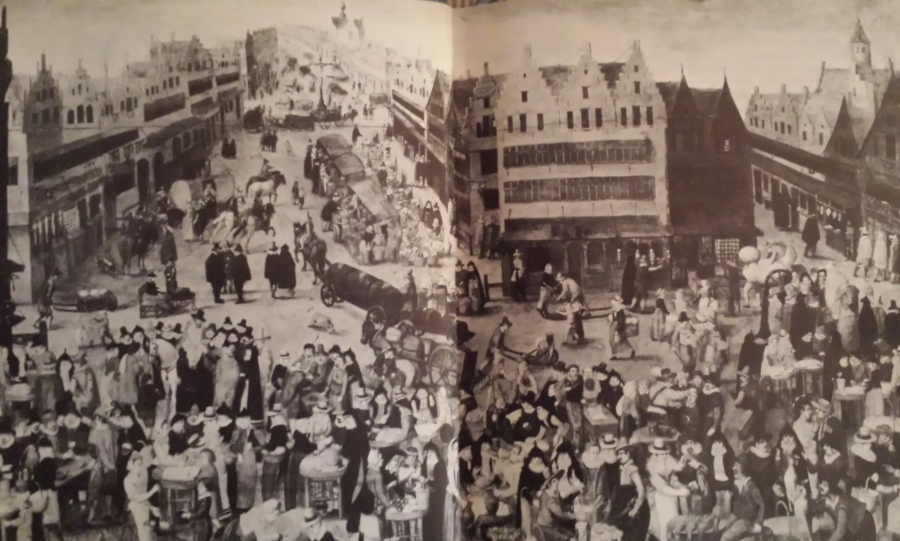 Antwerp market square