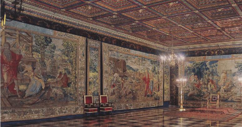 Bruges tapestries Wawel Castle