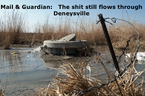 Mail & Guardian The shit still flows through Deneysville